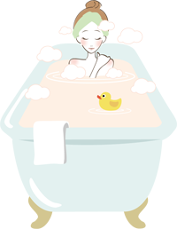 入浴時のマッサージ