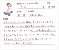 Y.Oさん 29歳 女性
