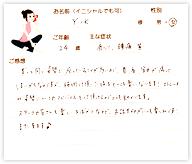 Y.Kさん 24歳 女性