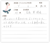Y.Iさん 37歳 男性