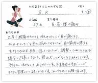 S.Kさん 37歳 女性